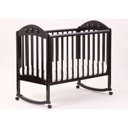 Кроватка для новорожденного Лель - Кубаньлесстрой Орхидея АБ 24.0 качалка + колёса