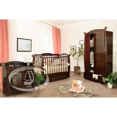 Детская комната Можга Драгоценная коллекция Cristal Красная звезда С888, С265, С531