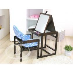 Гарнитур детской мебели Можга С368 Красная звезда стул-кресло + стол-мольберт