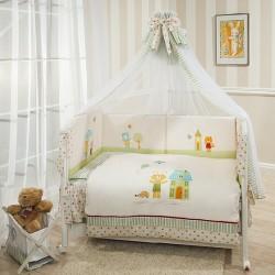 Комплект в кроватку Perina Глория 7 предметов, САТИН, Премиум класс