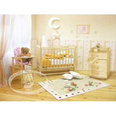 Детская комната Можга Классика. Кленовый сироп С619, С439, С374 Красная звезда