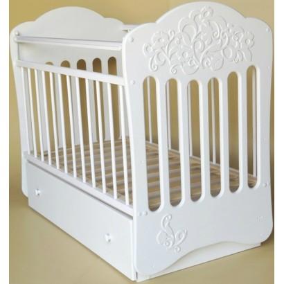 Детская кроватка для новорожденного-поперечный маятник Островок уюта Виола