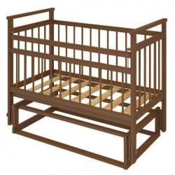 Детская кроватка для новорожденного Бэби Бум Ольга-1 поперечный маятник без ящика
