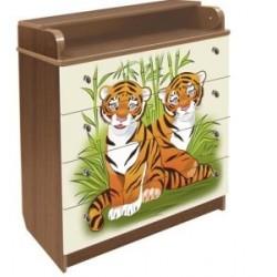 Пеленальный комод Влана Тигры