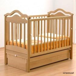 Детская кроватка для новорожденного Gandylyan Анжелика с универсальным маятником (Гандылян)