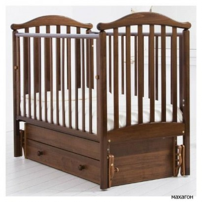 Детская кроватка для новорожденного Gandylyan Людмила с универсальным маятником (Гандылян)