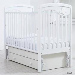Детская кроватка для новорожденного Gandylyan Джулия с универсальным маятником (Гандылян)
