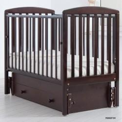 Детская кроватка для новорожденного Gandylyan Полина с универсальным маятником (Гандылян)
