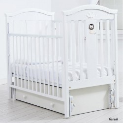 Детская кроватка для новорожденного Gandylyan Даниэль с универсальным маятником (Гандылян)