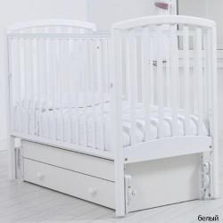 Детская кроватка для новорожденного Gandylyan Дашенька с универсальным маятником (Гандылян)