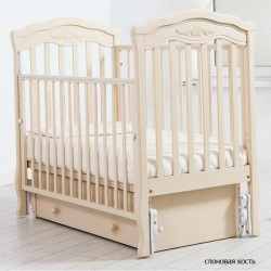 Детская кроватка для новорожденного Gandylyan Шарлотта  с универсальным маятником (Гандылян)