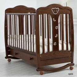 Детская кроватка для новорожденного Gandylyan Мишель (Гандылян)