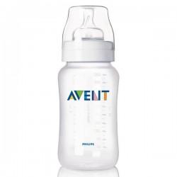 Бутылочка для кормления 330 мл (соска с переменным потоком) Avent SCF686/17 (Авент)