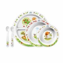 Набор посуды для малыша от 6 мес. Avent SCF716/00 (Авент)