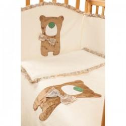 Постельный сет из 6 предметов Makkaroni Kids Toy Teddy (Маккарони Кидс)