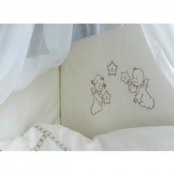 Борт в кроватку Makkaroni Kids Волшебная сказка 125х65 и 120x60 см (Маккарони Кидз)