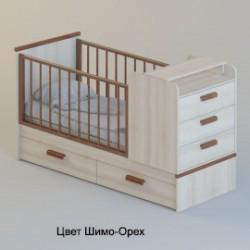 """Детская кроватка-трансформер Атон """"Виктория"""""""