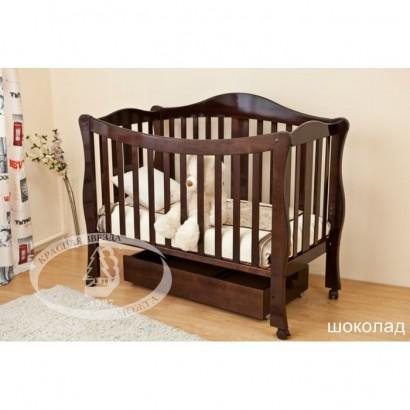 Детская кроватка трансформер Можга Красная звезда Джованни С127