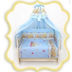Комплект в детскую кроватку 8 предметов Bombus (Топтыжка) «Давай поиграем»