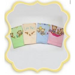 Комплект в детскую кроватку 3 предмета Bombus (Топтыжка) «Давай поиграем»