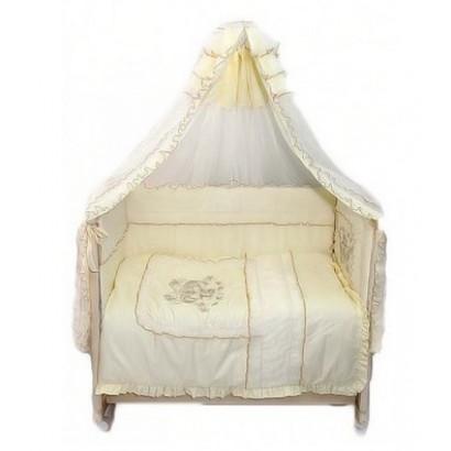 Комплект в детскую кроватку 9 предметов Bombus (Топтыжка) «Бэби-люкс»