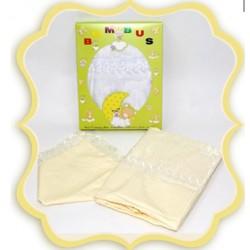 Комплект в детскую кроватку 3 предмета Bombus (Топтыжка) «Нежность»