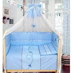 Комплект в детскую кроватку 7 предметов Bombus (Топтыжка) «Бабочки»