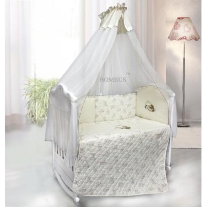 Комплект в детскую кроватку 6 предметов Bombus (Топтыжка) «Bombus»