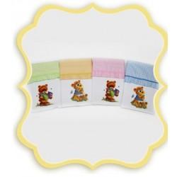 Комплект в детскую кроватку 3 предмета Bombus (Топтыжка) «Юленька»