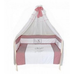 Комплект в детскую кроватку 7 предметов Bombus (Топтыжка) «Красная шапочка»