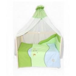 Комплект в детскую кроватку 7 предметов Bombus (Топтыжка) «Кря-кря»