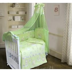 Комплект в детскую кроватку 7 предметов Bombus (Топтыжка) «Павлуша»