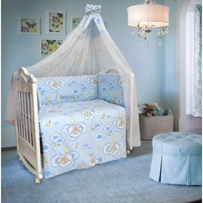 Комплект в детскую кроватку 7 предметов Bombus (Топтыжка) «Сладкий сон»