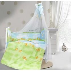 Комплект в детскую кроватку 7 предметов Bombus (Топтыжка) «Солнечный денек»