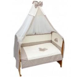 Комплект в детскую кроватку 7 предметов Bombus (Топтыжка) «Мими»
