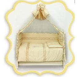 Комплект в детскую кроватку 7 предметов Bombus (Топтыжка) «Три медведя»