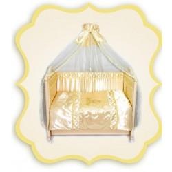 Комплект в детскую кроватку 7 предметов Bombus (Топтыжка) «Золушка»