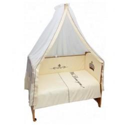Комплект в детскую кроватку 7 предметов Bombus (Топтыжка) «Сонное царство»