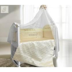 Комплект в детскую кроватку 6 предметов Bombus (Топтыжка) «Мила»