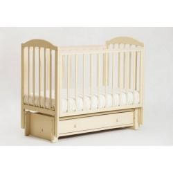 Детская кроватка Кубаньлесстрой (Лель) БИ 41.3 Кубаночка-5 (маятник продольный)
