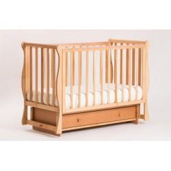 Детская кроватка Кубаньлесстрой (Лель) БИ 40.2 Кубаночка-4 (маятник поперечный)