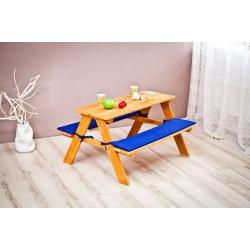 Детский уличный столик со скамейками Можга Красная звезда С 907