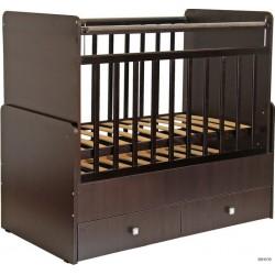 Детская комната Фея 2 предмета кроватка-трансформер 720 + комод 1580