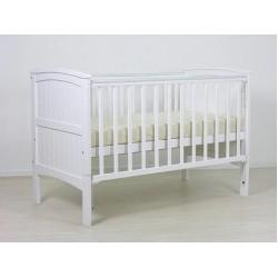 Детская комната Фея 10 предметов: кроватка трансформер из массива 810 + комод 1580 + комплект Мишутка