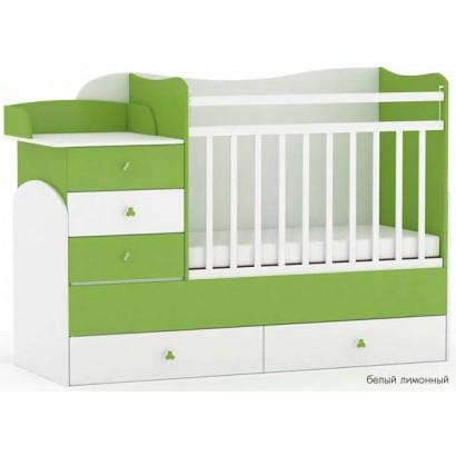 Детская кровать трансформер детская Фея 1400