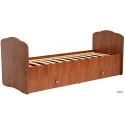 Детская кровать-трансформер с маятником детская Фея 2100
