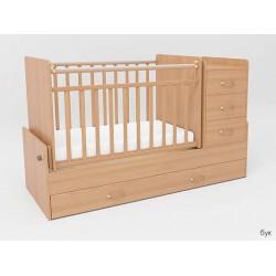 Детская кровать-трансформер с маятником СКВ-5