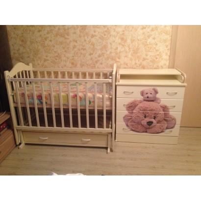 """Набор для детской комнаты """"Сказка"""", 3 предмета"""