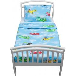 Комплект постельного белья для дошкольника из двух предметовGiovanniPilots(серияShapito)