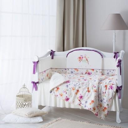 Комплект в детскую кроватку Perina Акварель 6 предметов